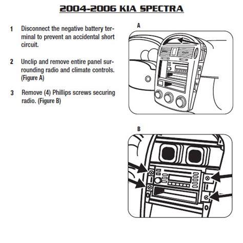 Kia Spectrainstallation Instructions