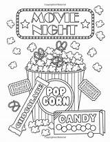 Coloring Emoji Movie Adult Books Ticket Quote Diaz Lourdes Summer Night Printable Sheets Colouring Coloreando Template sketch template