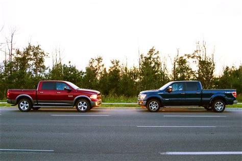 Comparison Test 2014 Ram 1500 Vs 2013 Ford F150 Autosca
