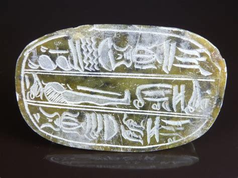 watts antiques egyptian soapstone scarab beetle
