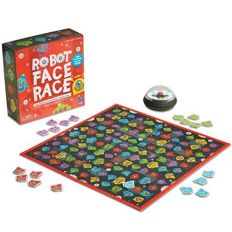 Jautra spēle visai ģimenei - galda spēle - Robot Face Race ...