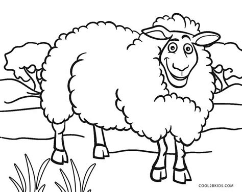 color sheep free printable sheep coloring pages for cool2bkids