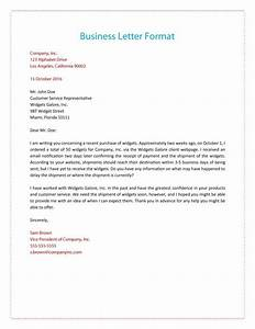 35 Formal    Business Letter Format Templates  U0026 Examples  U1405