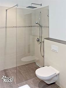Duschtrennwand Bodengleiche Dusche : glastrennw nde duschtrennw nde aus klarglas auch ~ Michelbontemps.com Haus und Dekorationen