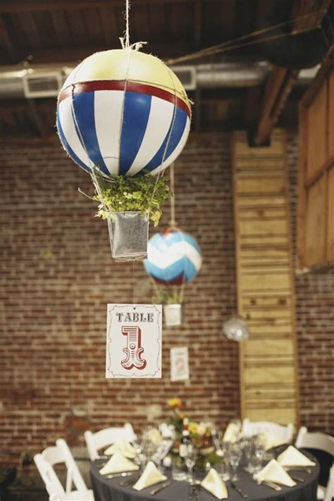 Love Is In The Air Hot Air Balloon Wedding Inspiration