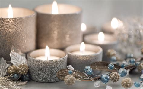 15 decorative candle designs that you will like mostbeautifulthings - Silver Christmas Candles