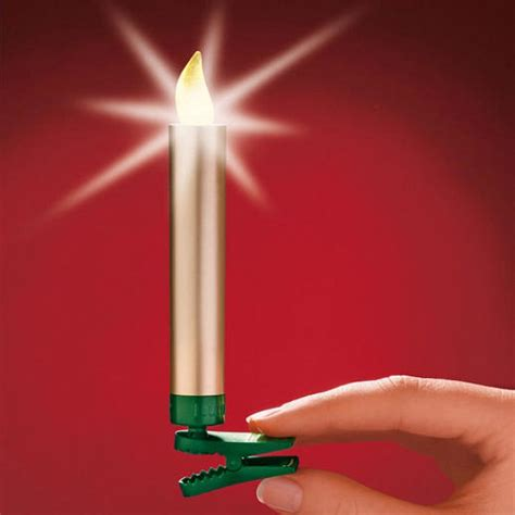 wireless led christmas tree candles with remote