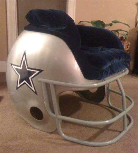 cowboys helmet chair this is awesome d dallas