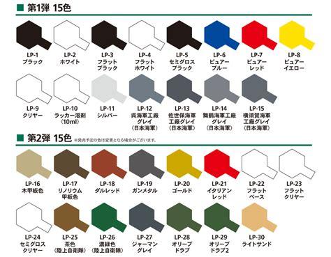Tamiya Paint Chart Ofertasvuelo