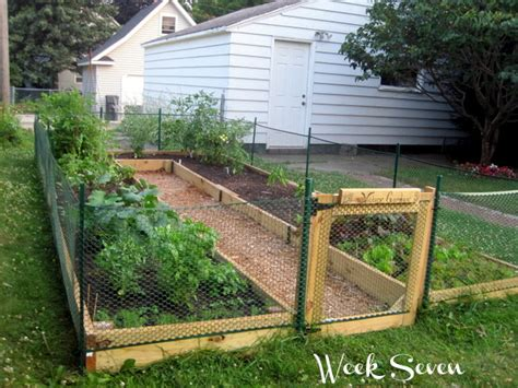 learn how to build a u shaped raised garden bed