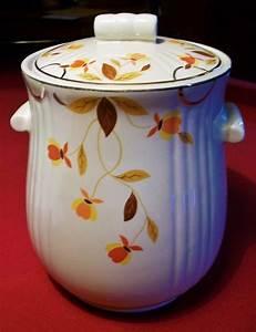 Hall, Autumn, Leaf, U0026quot, Jewel, Tea, U0026quot, Rayed, Cookie, Jar--mary, Dunbar, Or, U0026quot, Tootsie, U0026quot