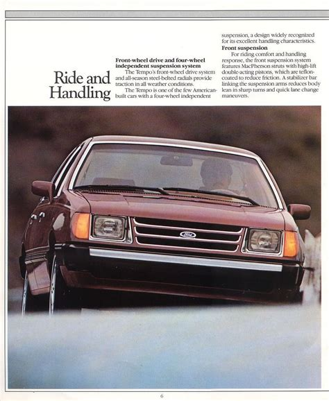Directory Index: Ford/1985_Ford/1985_Ford_Tempo_Brochure