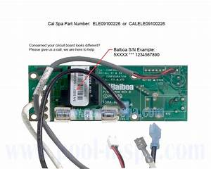 Cal Spa Ele09100226 Extension Relay Circuit Board