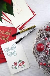 Adventskranz Selbst Gestalten : diy weihnachtskarten kreative weihnachtsgr e selbst gestalten handmade kultur ~ Frokenaadalensverden.com Haus und Dekorationen