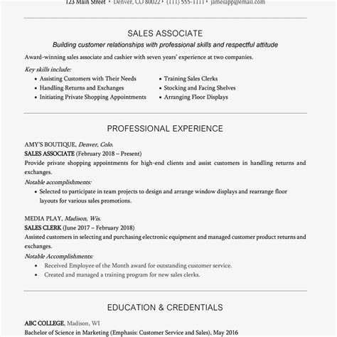 resume headline exles and writing tips