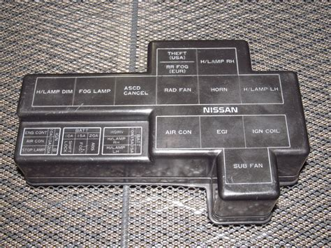 Nissan Fuse Box Cover by 90 96 Nissan 300zx Oem Engine Fuse Box Cover Products
