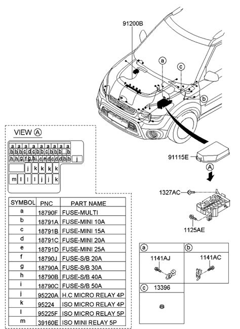 Genuine Kia Wiring Assembly Front