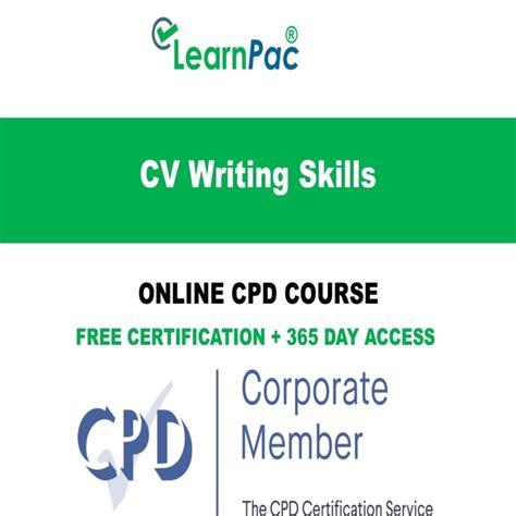 Cv Writing Skills by Cv Writing Skills Course Cpd