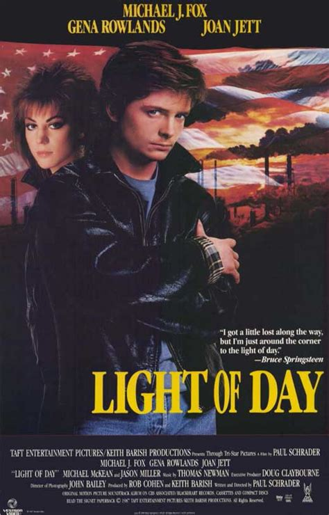 light of day 1987 light of day movie posters from movie poster shop