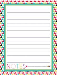 i should be mopping the floor free printable notes pages
