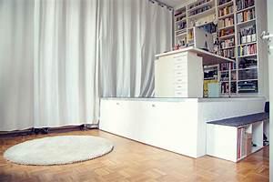 Schrank Bauen Lassen : wie wir uns ein podest bauen eine diy anleitung ~ Michelbontemps.com Haus und Dekorationen