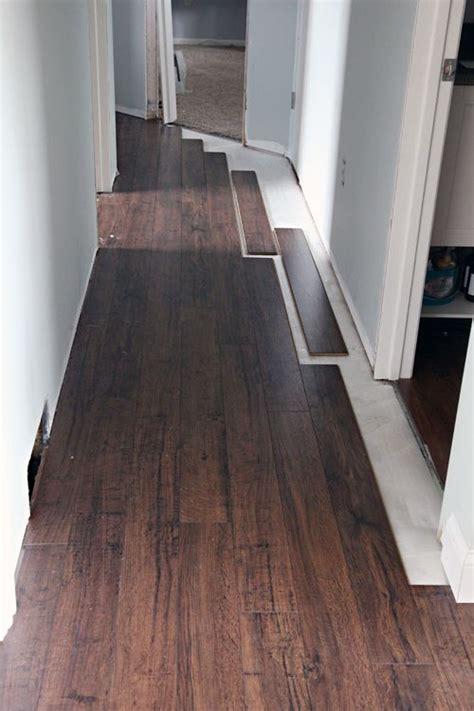 floating laminate floor installation