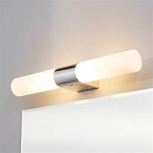 Prise Electrique Salle De Bain : applique pour miroir ziva prise lectrique achat ~ Dailycaller-alerts.com Idées de Décoration
