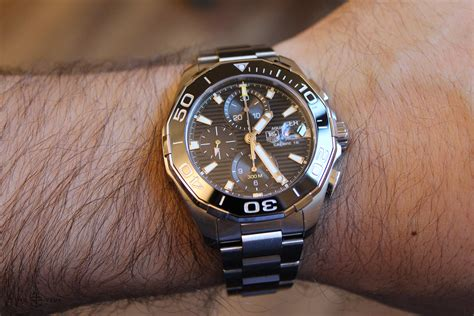 Tag Heuer Aquaracer 300 Calibre 16 Chronograph Review