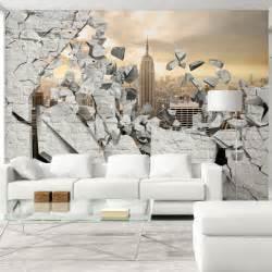 fototapete steinmauer wohnzimmer tapeten 3d steinoptik innenraum und möbel