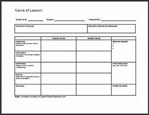 25 best ideas about lesson plan templates on pinterest With morning meeting lesson plan template