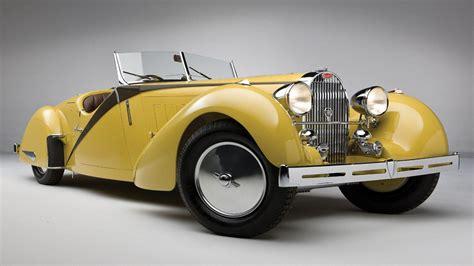 old bugatti yellow bugatti type 57 wallpaper desktop wallpaper