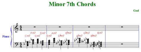Minor 7th Chords