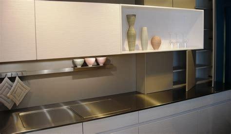 plan de travail en inox bross 233 pour cuisines show home concept