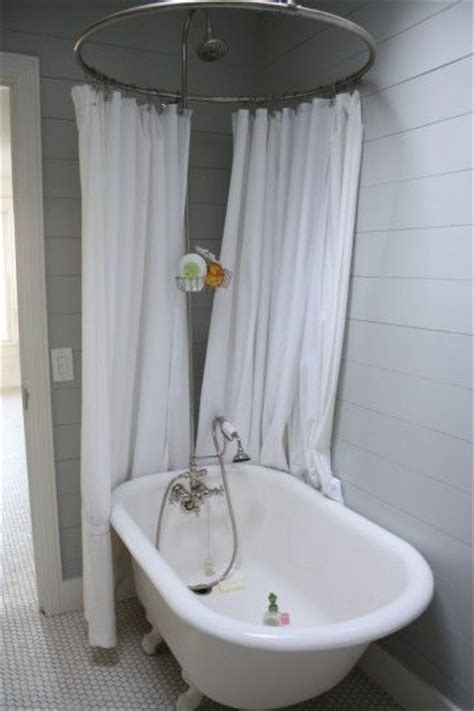 clawfoot tub shower clawfoot tubs and shower surround on