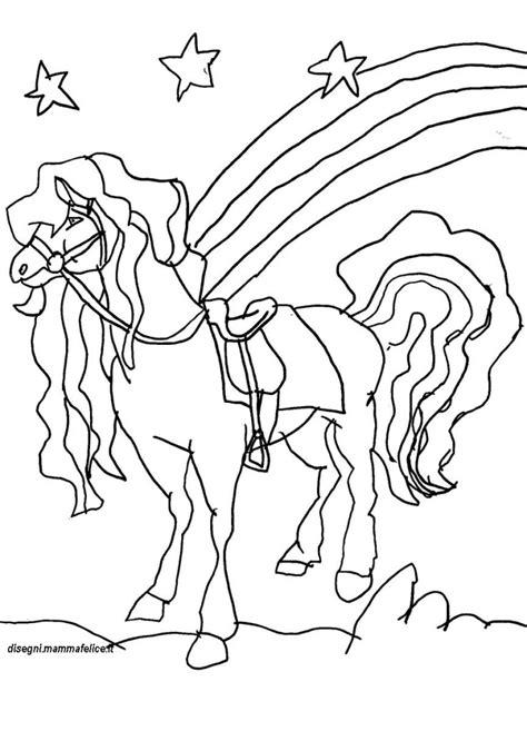 colorare disegni disegno da colorare il cavallo disegni mammafelice