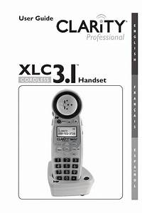 Clarity Xlc3 4 User Guide
