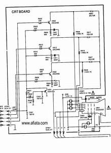 Electronic Circuit Diagram Tv Crt Board Rgb Colour Using Tr 2sc2482
