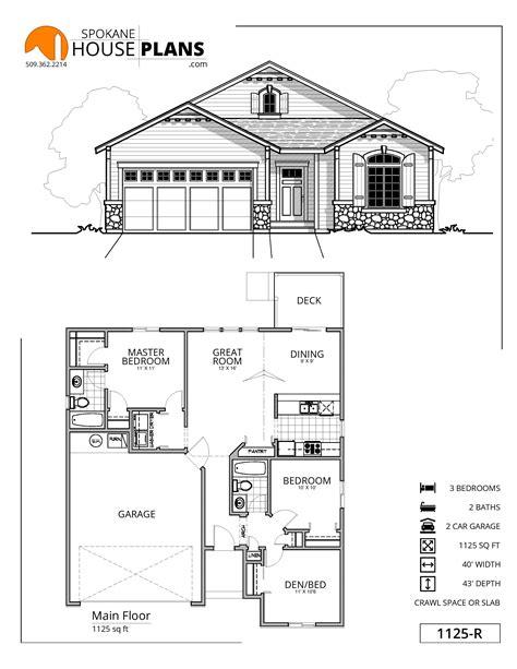 1125r  Spokane House Plans