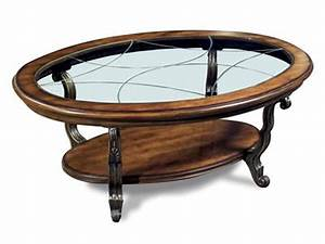 Riverside Living Room Oval Coffee Table 82002 Carol