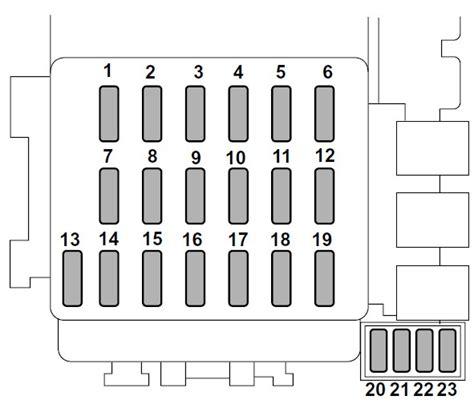 Subaru Fuse Box Diagram 2005 by Subaru Forester 2005 Fuse Box Diagram Auto Genius
