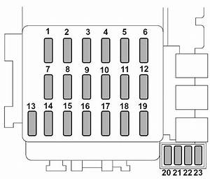 Subaru Forester  2003  - Fuse Box Diagram