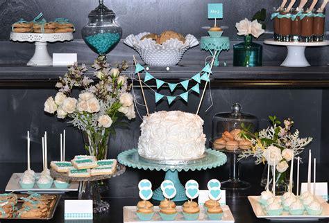 Wedding Showers by A Silver Nutmeg Blue Bridal Shower