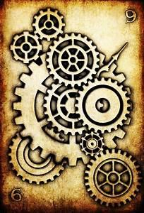 WRD: Nine of Cogs by TormentedArtifacts   mechanical ...