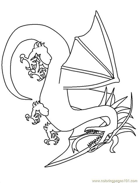 dragon cartoon  coloring page  dragon ball