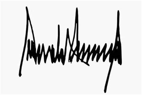 national richter scale day donald trumps signature