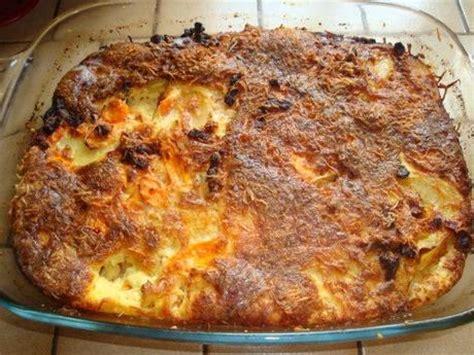 recette gratin aux carottes pommes de terre et lardons