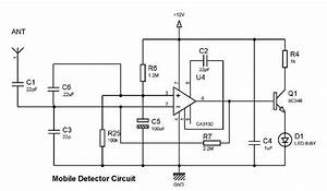 Simple Mobile Detector Circuit