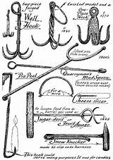 Blacksmith Tools Early Metal American Forge Coloring Blacksmithing Working Courtesy Museum Template Sloane Eric Miscellaneous Implements Woodworkingspecialist sketch template