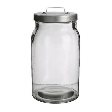 ikea kitchen canisters burken jar with lid ikea