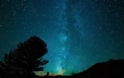 Nature Dark Sky Night Space Star Aurora